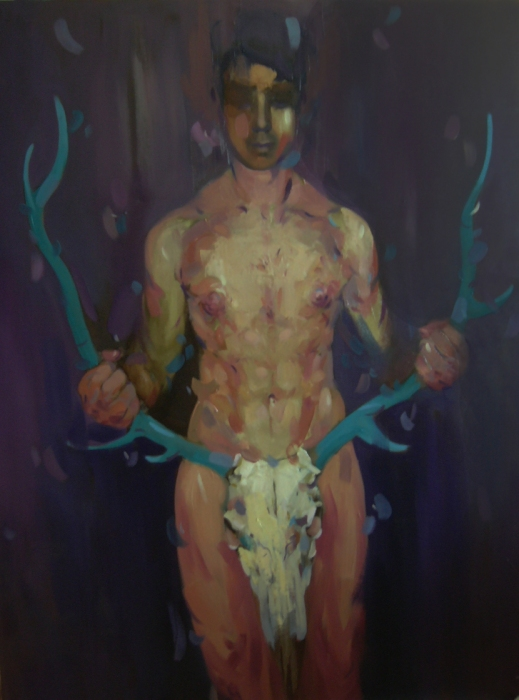 manhood,oil on canvas,97x130cm,