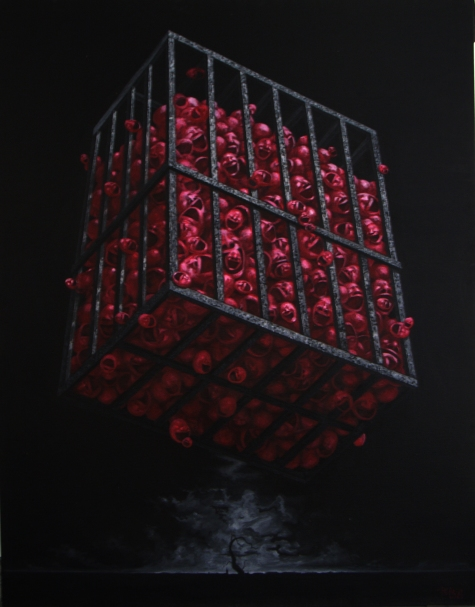 Medium: oil on canvasDimensions: 220 x 280 cmYear: 2006
